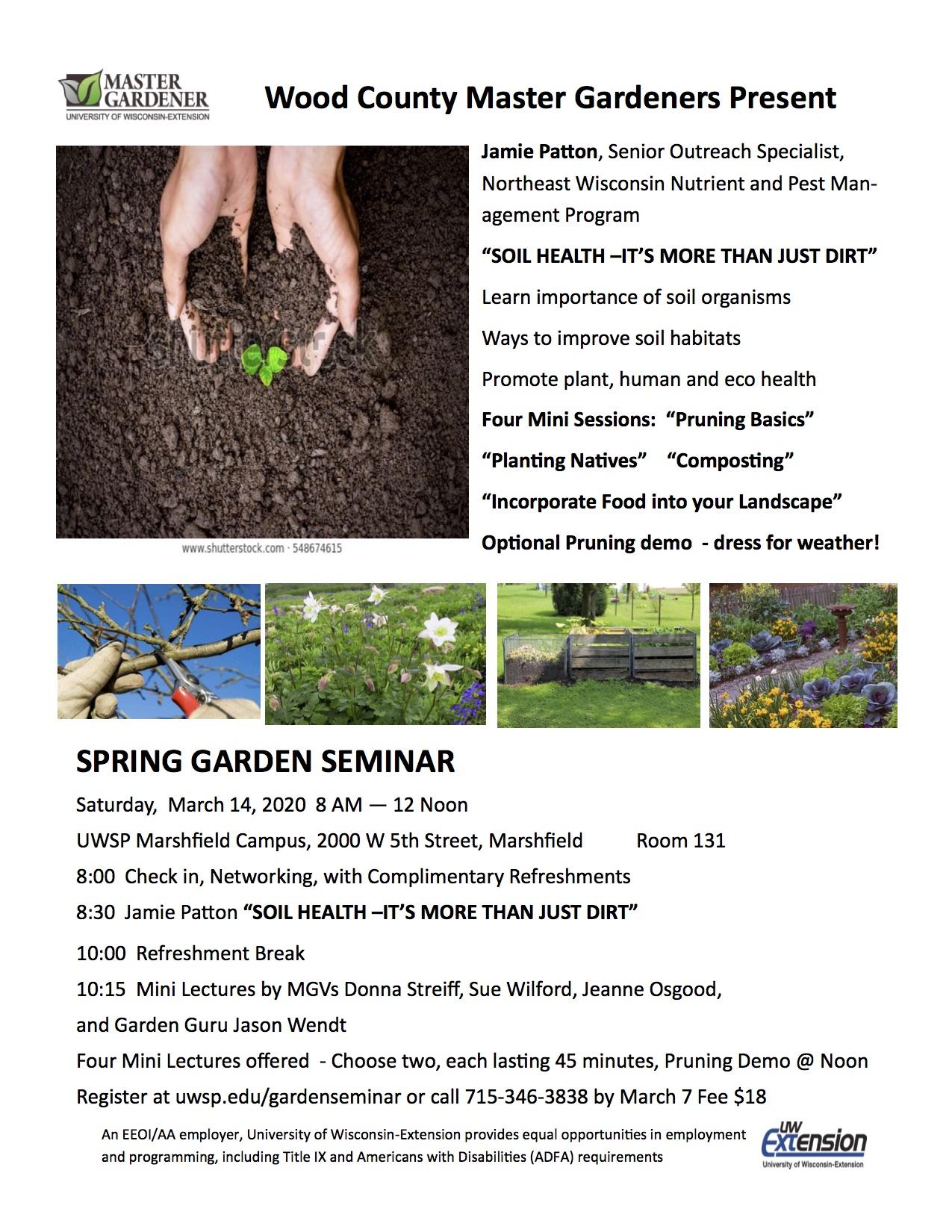 2020 Spring Seminar
